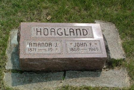 HOAGLAND, AMANDA J. - Mills County, Iowa   AMANDA J. HOAGLAND