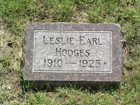 HODGES, LESLIE EARL - Mills County, Iowa | LESLIE EARL HODGES