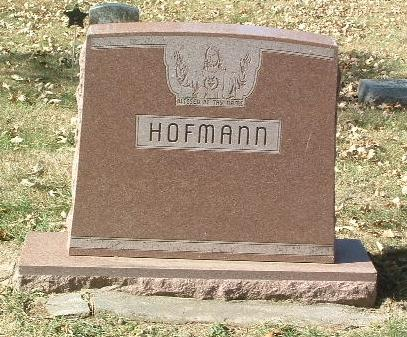 HOFMANN, FAMILY HEADSTONE - Mills County, Iowa | FAMILY HEADSTONE HOFMANN