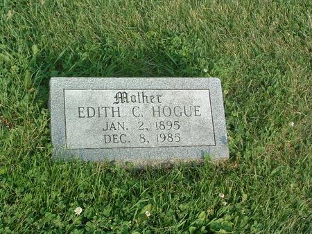 HOGUE, EDITH C. - Mills County, Iowa | EDITH C. HOGUE