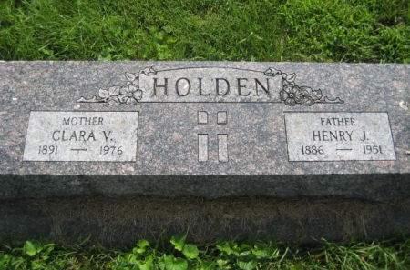 HOLDEN, CLARA V. - Mills County, Iowa | CLARA V. HOLDEN