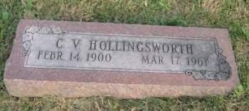 HOLLINGSWORTH, C. V. - Mills County, Iowa | C. V. HOLLINGSWORTH