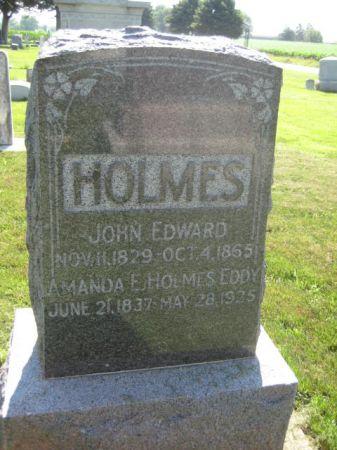 EDDY HOLMES, AMANDA E. - Mills County, Iowa   AMANDA E. EDDY HOLMES