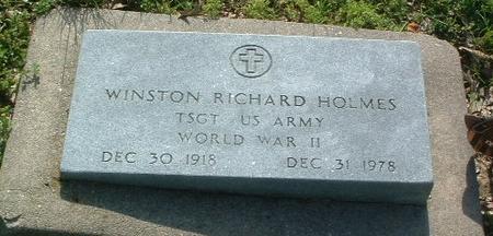 HOLMES, WINSTON RICHARD - Mills County, Iowa | WINSTON RICHARD HOLMES