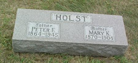 HOLST, MARY K. - Mills County, Iowa | MARY K. HOLST