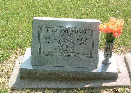 HONIG, ELLA MAE - Mills County, Iowa | ELLA MAE HONIG