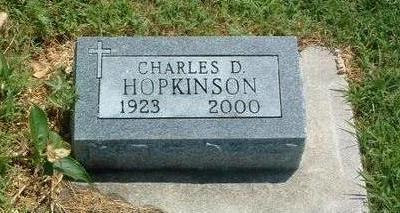 HOPKINSON, CHARLES D. - Mills County, Iowa   CHARLES D. HOPKINSON