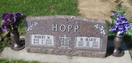 HOPP, M MARIE - Mills County, Iowa | M MARIE HOPP
