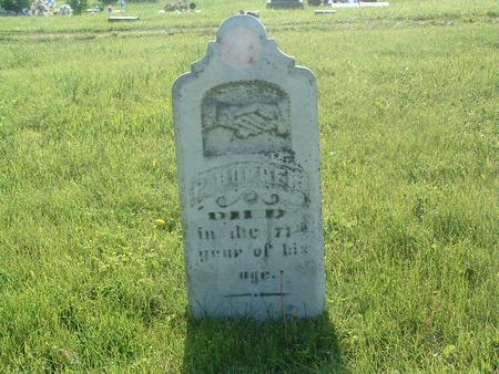 HORNER, P. - Mills County, Iowa | P. HORNER