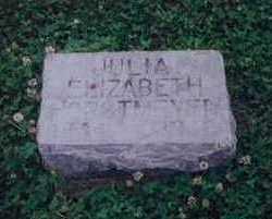 HEMPLE HORSTMEYER, JULIA ELIZABETH - Mills County, Iowa | JULIA ELIZABETH HEMPLE HORSTMEYER
