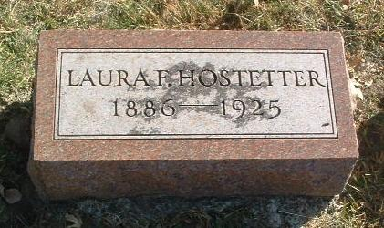 HOSTETTER, LAURA F. - Mills County, Iowa | LAURA F. HOSTETTER