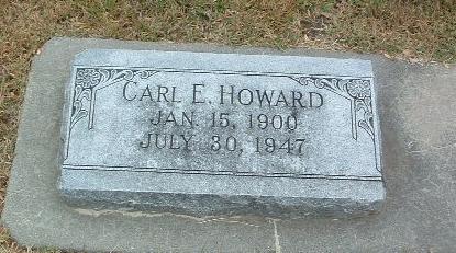 HOWARD, CARL E. - Mills County, Iowa | CARL E. HOWARD