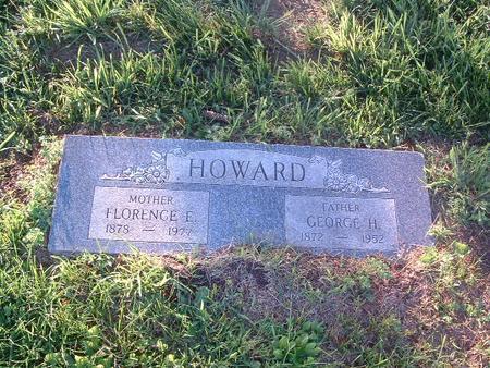 HOWARD, FLORENCE E. - Mills County, Iowa   FLORENCE E. HOWARD