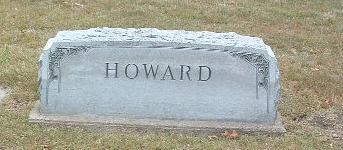 HOWARD, FAMILY HEADSTONE - Mills County, Iowa | FAMILY HEADSTONE HOWARD