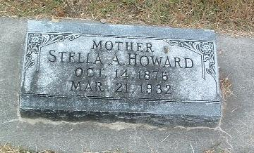 HOWARD, STELLA A. - Mills County, Iowa | STELLA A. HOWARD