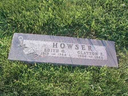 HOWSER, CLAYTON P. - Mills County, Iowa   CLAYTON P. HOWSER