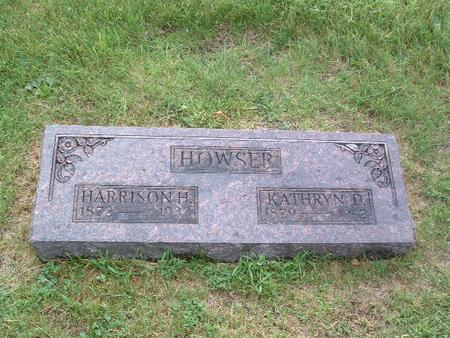 HOWSER, HARRISON H. - Mills County, Iowa | HARRISON H. HOWSER