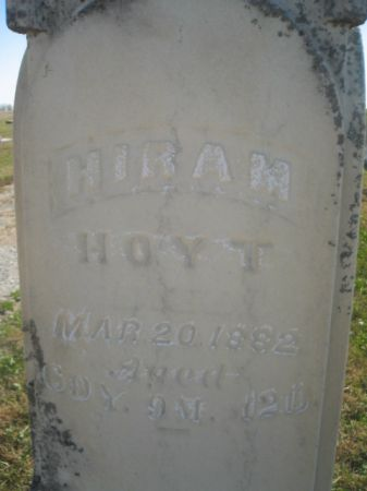 HOYT, HIRAM - Mills County, Iowa | HIRAM HOYT