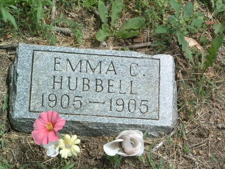 HUBBELL, EMMA C. - Mills County, Iowa | EMMA C. HUBBELL