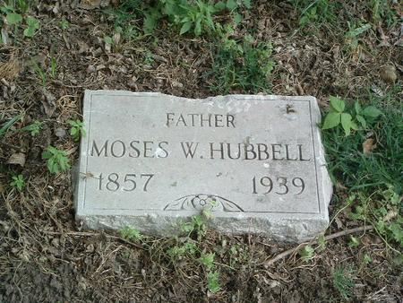 HUBBELL, MOSES W. - Mills County, Iowa | MOSES W. HUBBELL