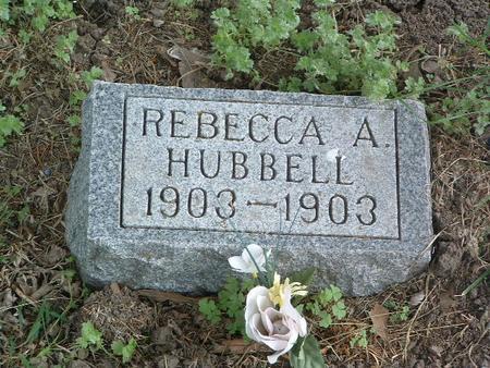 HUBBELL, REBECCA A. - Mills County, Iowa | REBECCA A. HUBBELL