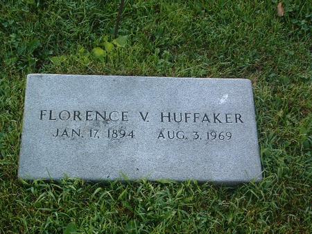 HUFFAKER, FLORENCE V. - Mills County, Iowa | FLORENCE V. HUFFAKER