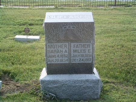 HUFFAKER, SARAH A. - Mills County, Iowa   SARAH A. HUFFAKER