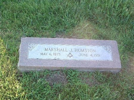 HUMSTON, MARSHALL J. - Mills County, Iowa   MARSHALL J. HUMSTON