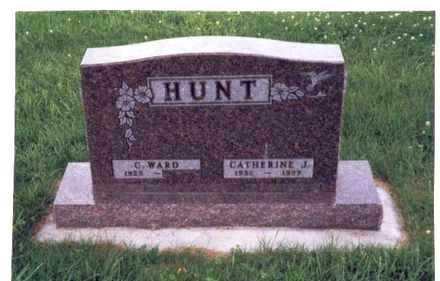 HUNT, CATHERINE JANE - Mills County, Iowa | CATHERINE JANE HUNT