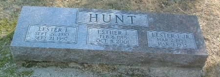 HUNT, ESTHER L. - Mills County, Iowa | ESTHER L. HUNT