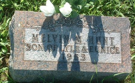 HUNT, MELVIN M. - Mills County, Iowa | MELVIN M. HUNT