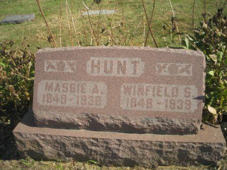 HUNT, WINFIELD S. - Mills County, Iowa | WINFIELD S. HUNT