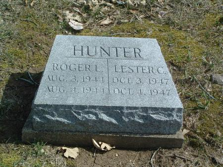 HUNTER, LESTER C. - Mills County, Iowa | LESTER C. HUNTER