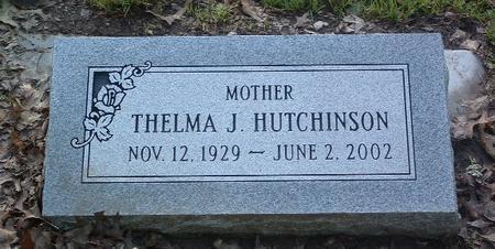 HUTCHINSON, THELMA J. - Mills County, Iowa | THELMA J. HUTCHINSON