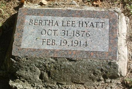 HYATT, BERTHA LEE - Mills County, Iowa | BERTHA LEE HYATT