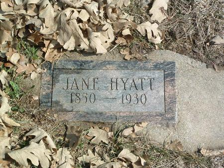 HYATT, JANE - Mills County, Iowa | JANE HYATT