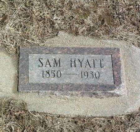 HYATT, SAM - Mills County, Iowa   SAM HYATT
