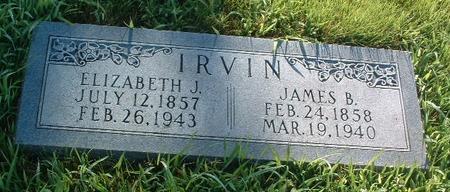 IRVIN, JAMES B. - Mills County, Iowa | JAMES B. IRVIN
