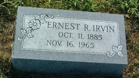 IRVIN, ERNEST R. - Mills County, Iowa | ERNEST R. IRVIN