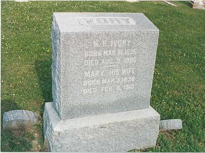 IVORY, MARY - Mills County, Iowa | MARY IVORY