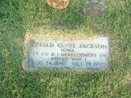 JACKSON, DONALD CLYDE - Mills County, Iowa | DONALD CLYDE JACKSON