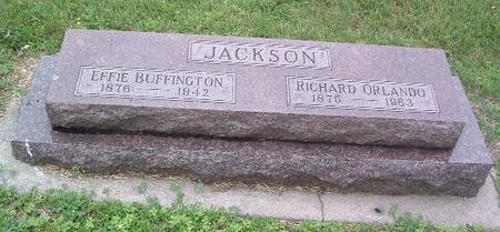 JACKSON, EFFIE - Mills County, Iowa | EFFIE JACKSON