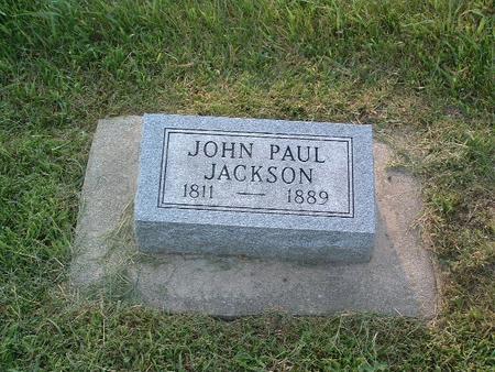 JACKSON, JOHN PAUL - Mills County, Iowa   JOHN PAUL JACKSON