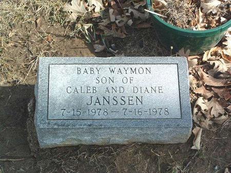 JANSSEN, WAYMON - Mills County, Iowa   WAYMON JANSSEN