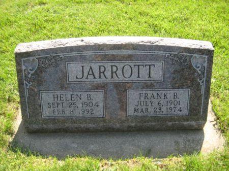 JARROTT, HELEN B. - Mills County, Iowa | HELEN B. JARROTT