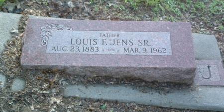 JENS, LOUIS F. SR. - Mills County, Iowa | LOUIS F. SR. JENS