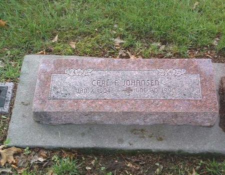 JOHANSEN, CARL F. - Mills County, Iowa | CARL F. JOHANSEN