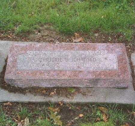 JOHANSEN, MARJORIE B. - Mills County, Iowa | MARJORIE B. JOHANSEN