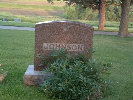 JOHNSON, FAMILY HEADSTONE - Mills County, Iowa | FAMILY HEADSTONE JOHNSON