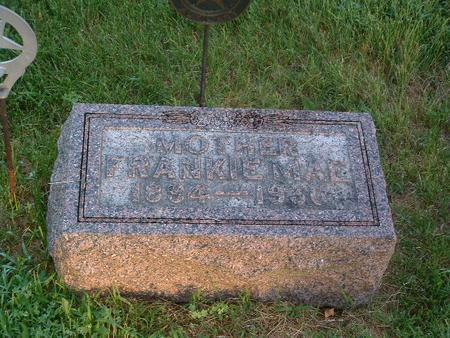 JOHNSON, FRANKIE MAE - Mills County, Iowa | FRANKIE MAE JOHNSON